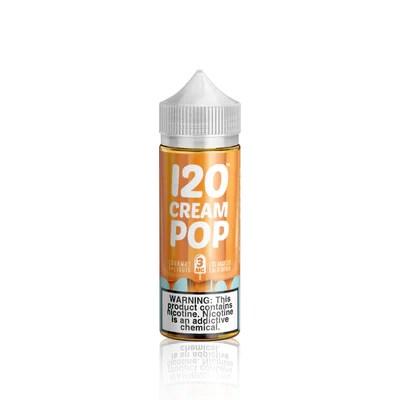120 Cream Pop E Liquid I Vape Juice I Breazy.com