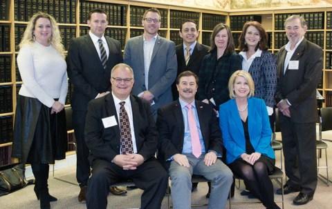 Sean_Brownlee_Washington_Retail_Association_with_Senator_Mark_Schoesler