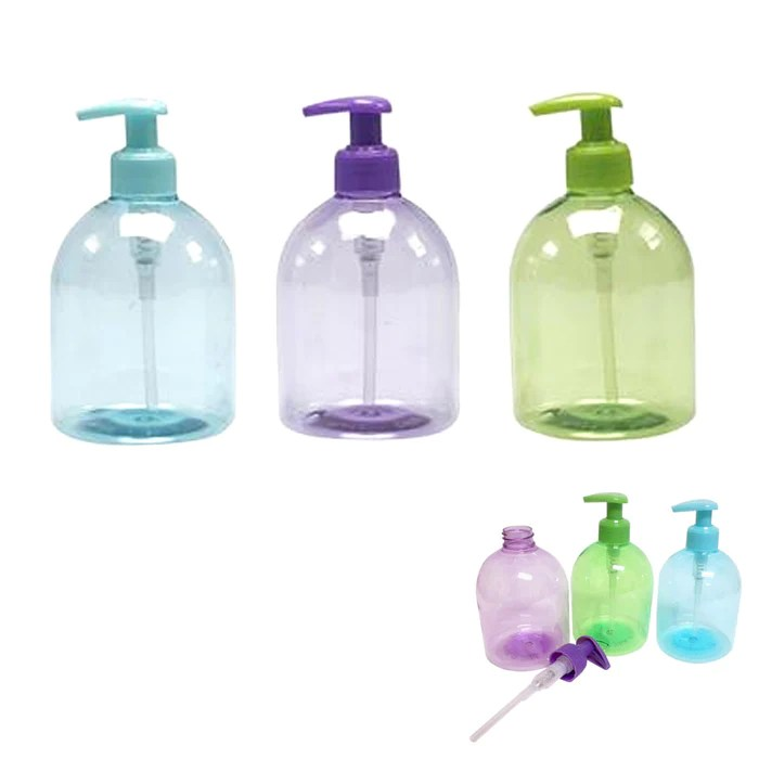 3pc plastic bottle dispenser