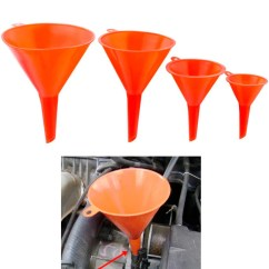 Kitchen Funnel Solid Surface Countertops 4 Plastic Set Auto Home Garden Engine Oil Water Tool 2 3