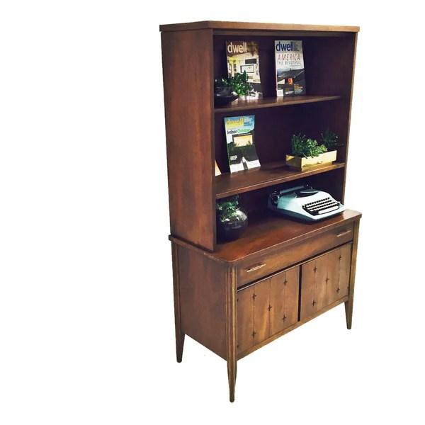 Broyhill Saga HutchChina Cabinet  Atomic Furnishing  Design