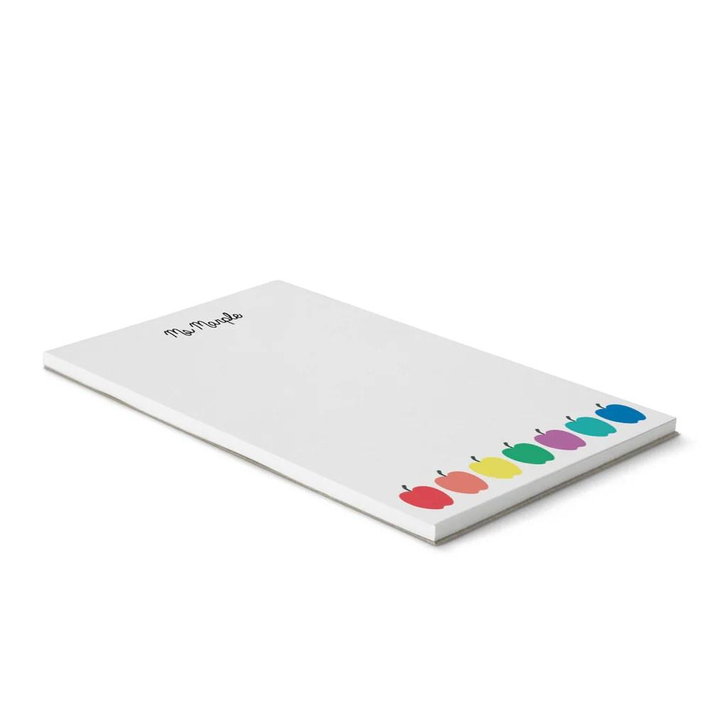 multi apple notepad