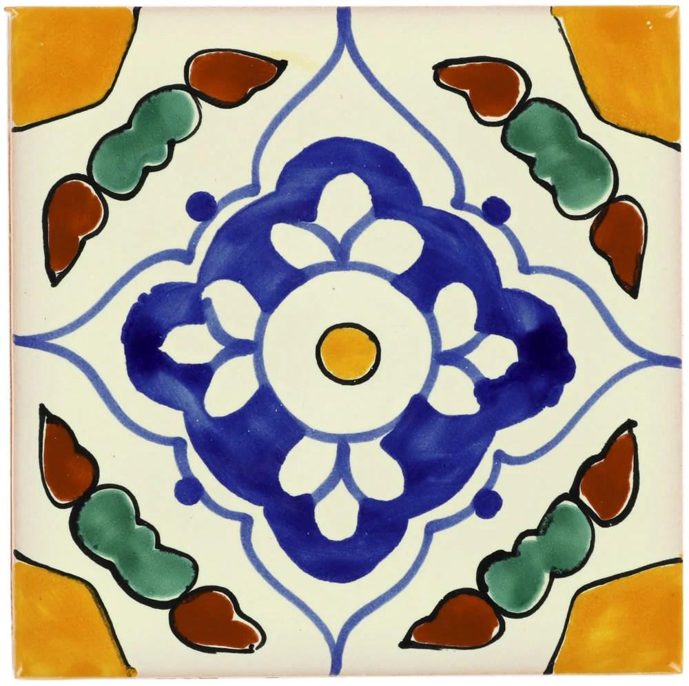 mexican talavera ceramic decorative tile guadalajara