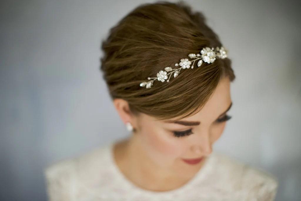short hair wedding inspiration