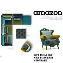 Amazon Sofa Set Asda Bed Reviews Replica Grant Featherston Contour Lounge Chair Ebarza Pre Order 60 Days Delivery U Shape Coloruim Ju008