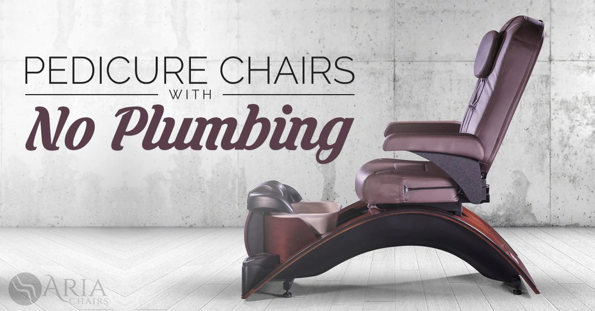 used no plumbing pedicure chair ergonomic executive how to buy non plumbed chairs aria