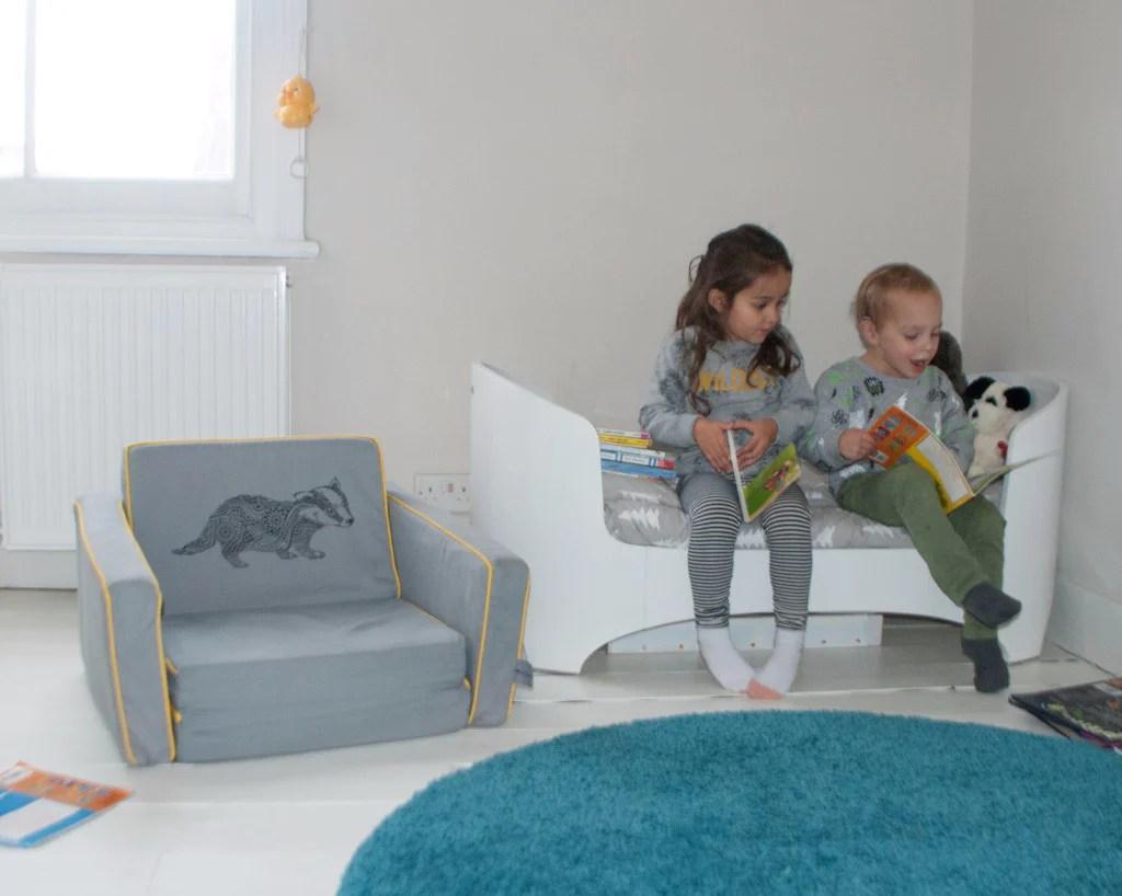 Kid S Mini Flip Sofa Minisett Com
