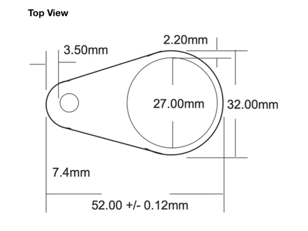 medium resolution of t5577 keyfob schematic top