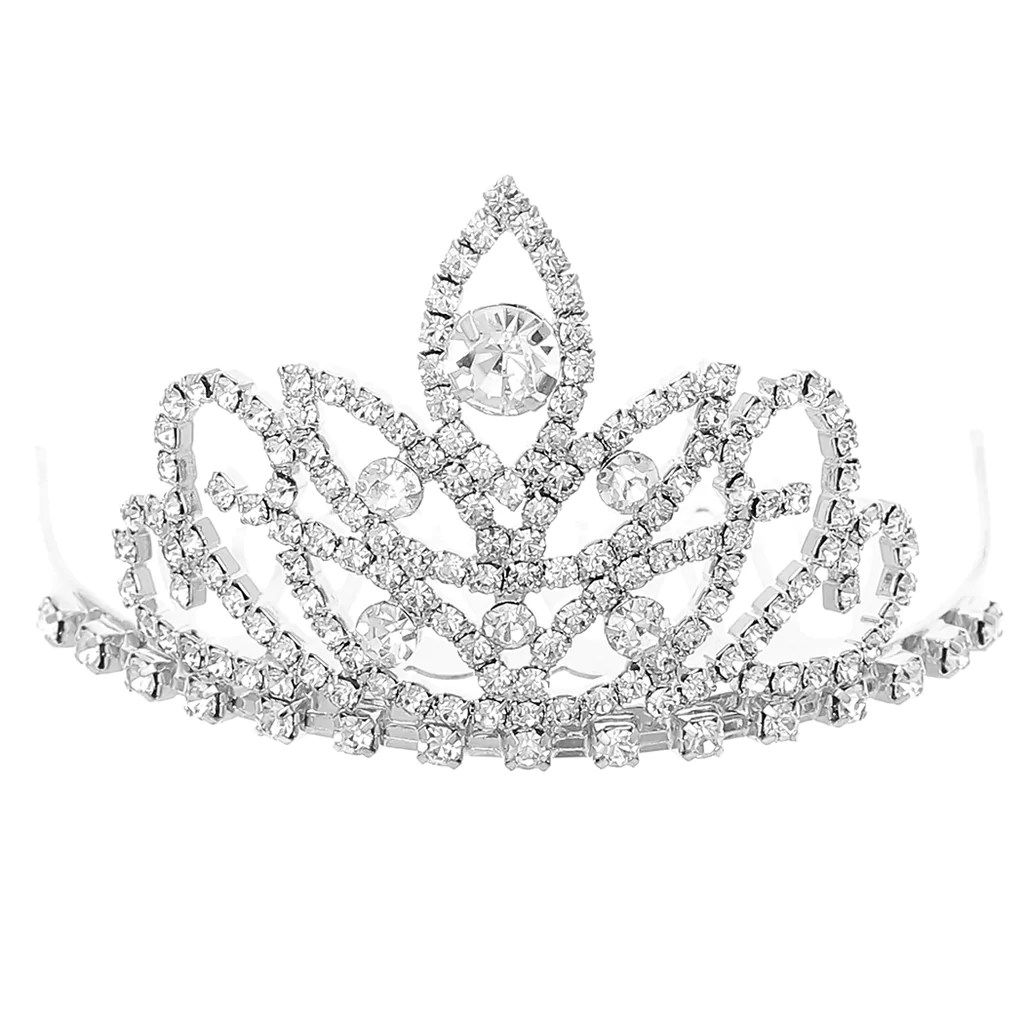 mini tiara hair comb