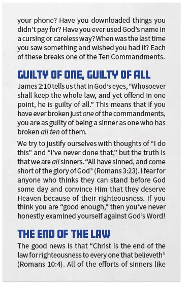 10 commandments of god # 47