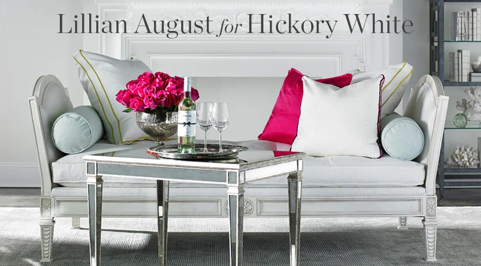 hickory dining room chairs spanish colonial lillian august for white - furnishings + design