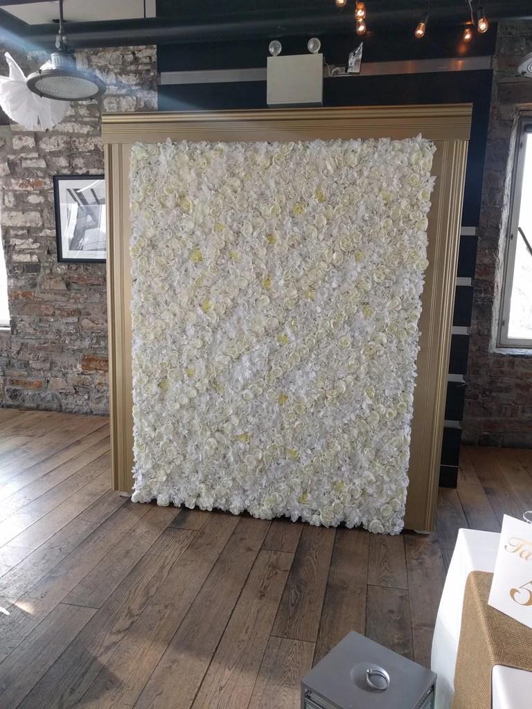 Flower Wall Rental  Detail Wedding Design
