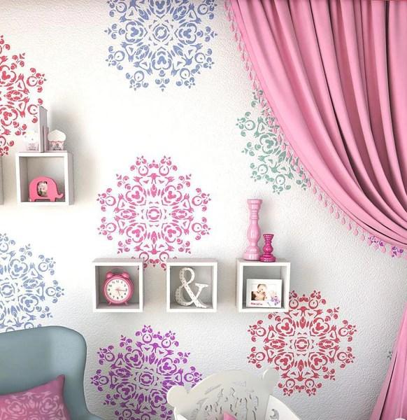 Mandala Stencil For Diy Wall Decor Stencil Unique Wall