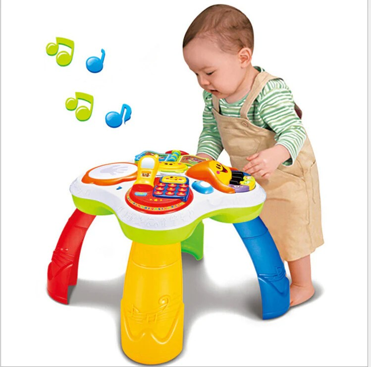 Kids Activity Table For Kids Musical Toys Baby Toys For 1