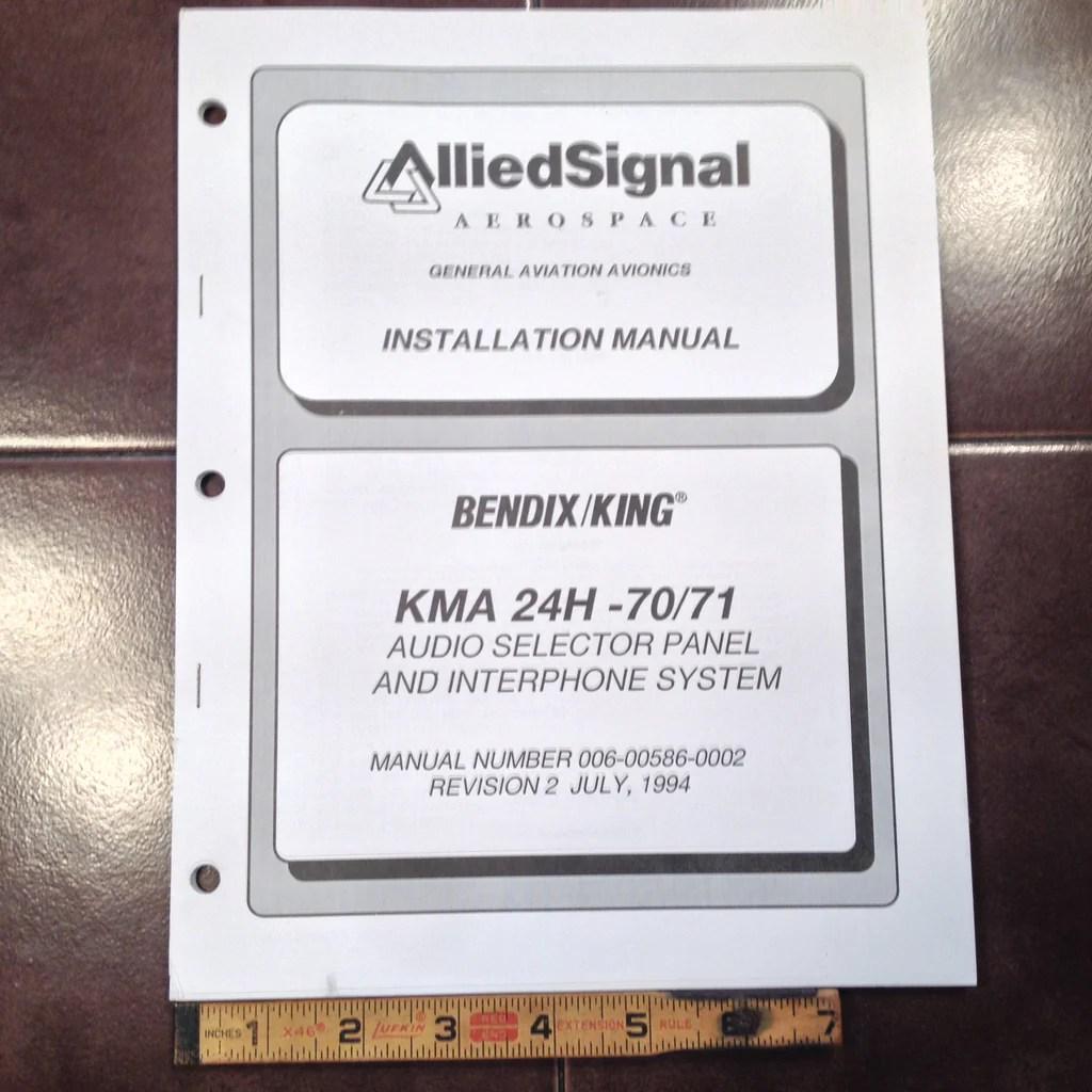 small resolution of king kma 24h 70 71 audio panel install manual g s plane stuff rh gsplanestuff com king kln 90b installation manual bendix auto pilot