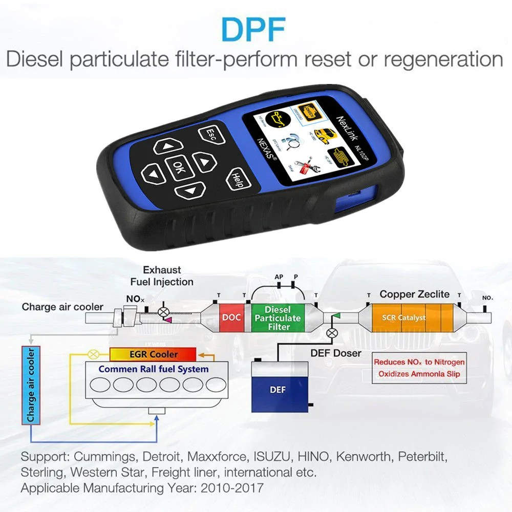 peterbilt truck diagnostic scanner dpf regeneration  [ 1000 x 1000 Pixel ]