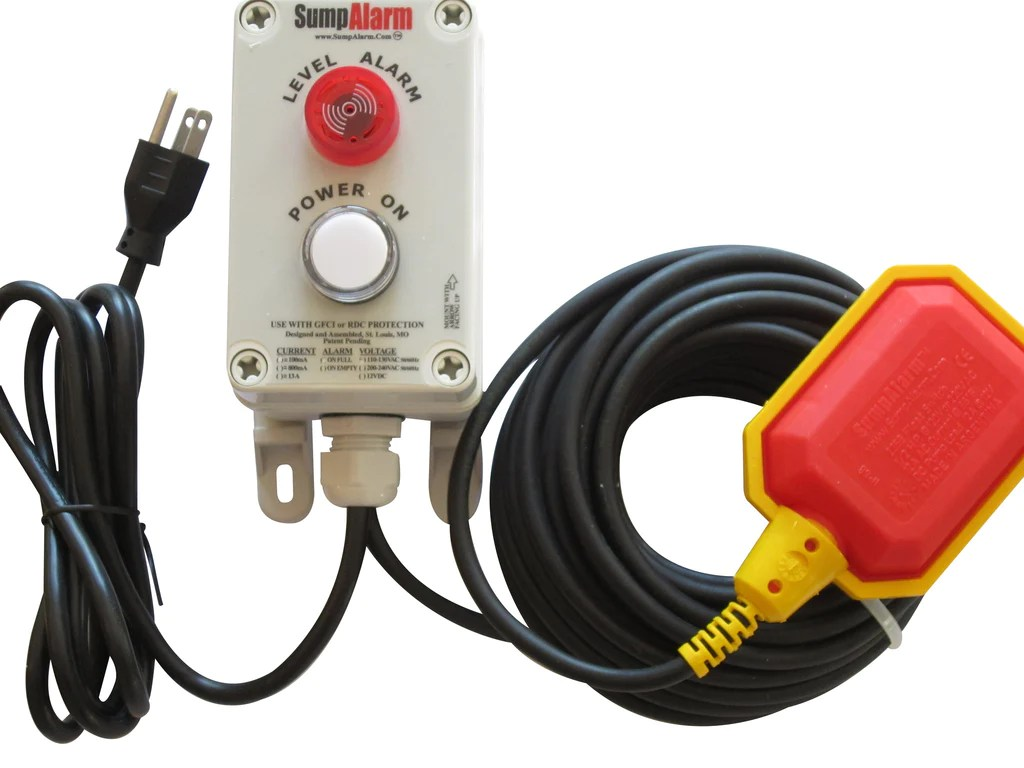 small resolution of sump alarm 2l high water alarm with power indicator