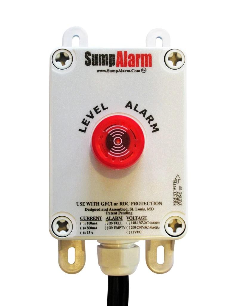 medium resolution of  the original sump alarm high water alarm sump alarm