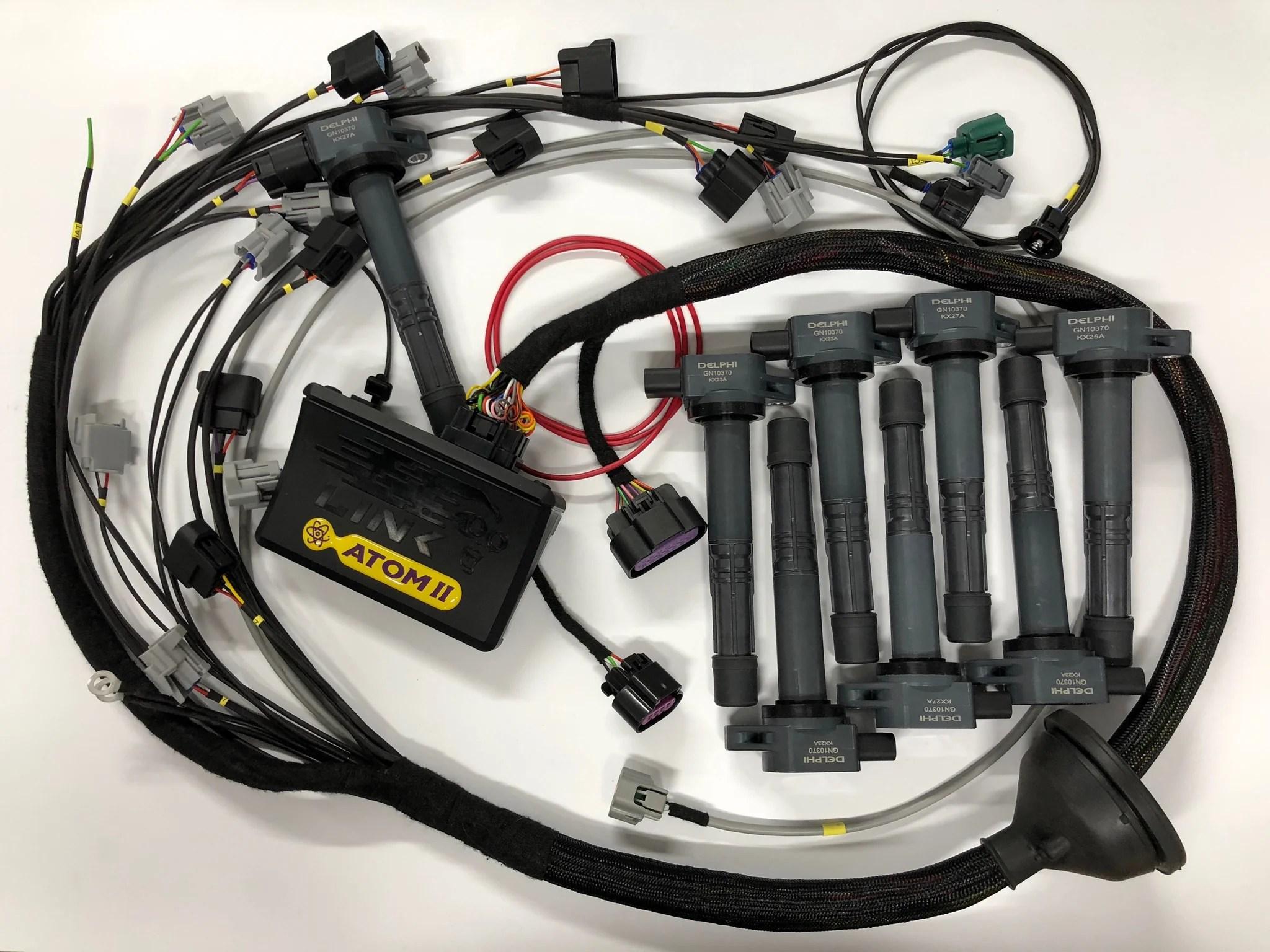medium resolution of link g4 atom storm xtreme thunder ecu 1uzfe 1uz with wiring 1uzfe wiring harness 1uz wiring harness