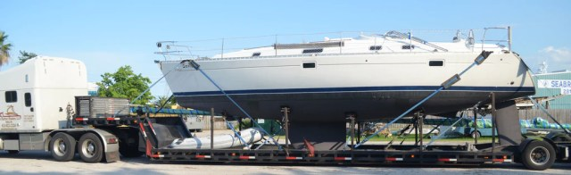 Seabrook Marina Shipyard in Texas - Galveston Bay Area