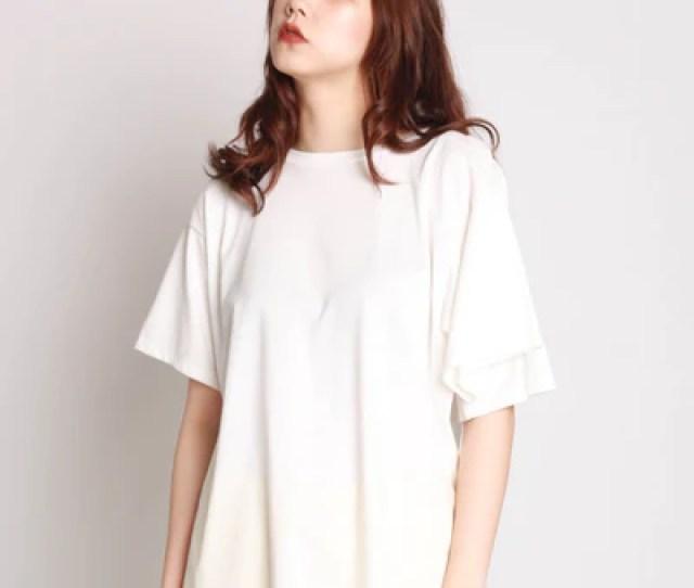 Four Sleeve T Shirt White