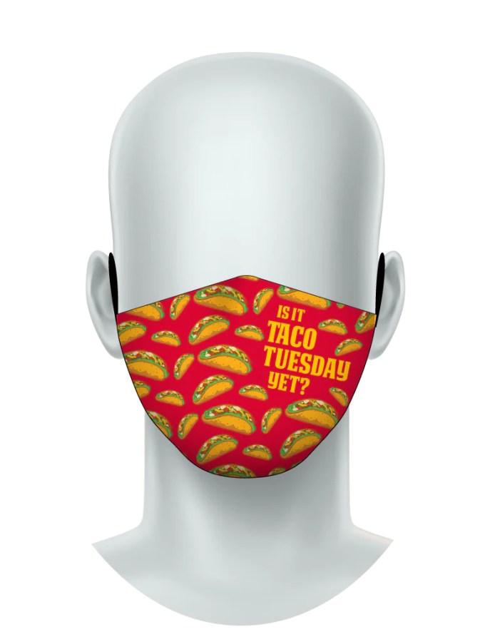 Zumo Taco Tuesday Face Mask