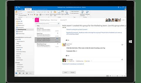 MS Office Pro più