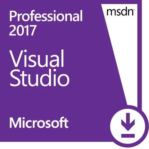 Microsoft Visual Studio 2017 Professional wMSDN