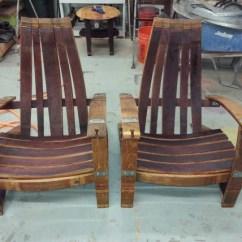 Adirondack Wine Barrel Chairs Folding Bar Chair India 2 The Winey Guys