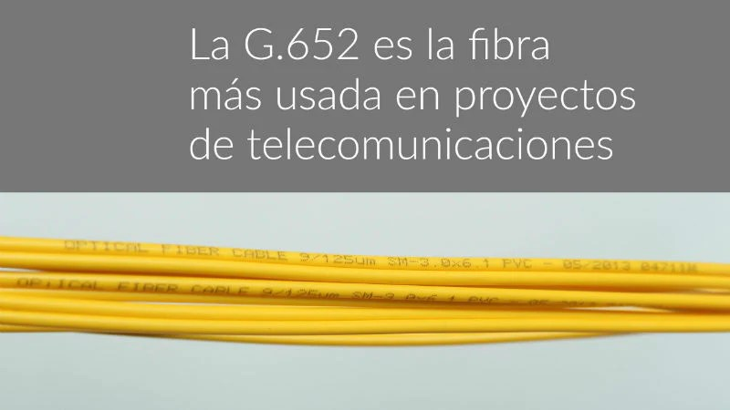 Fibra monomodo G652