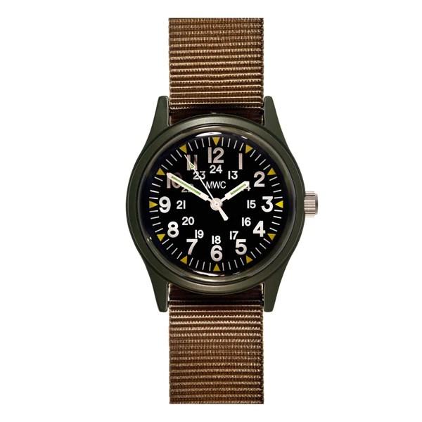 瑞士軍錶 1960經典70年代_軍綠色卡其織帶 | 25TOGO DESIGN STORE
