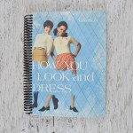 Vintage Notebook Made Using A Retro Hard Book Cover Curated Living