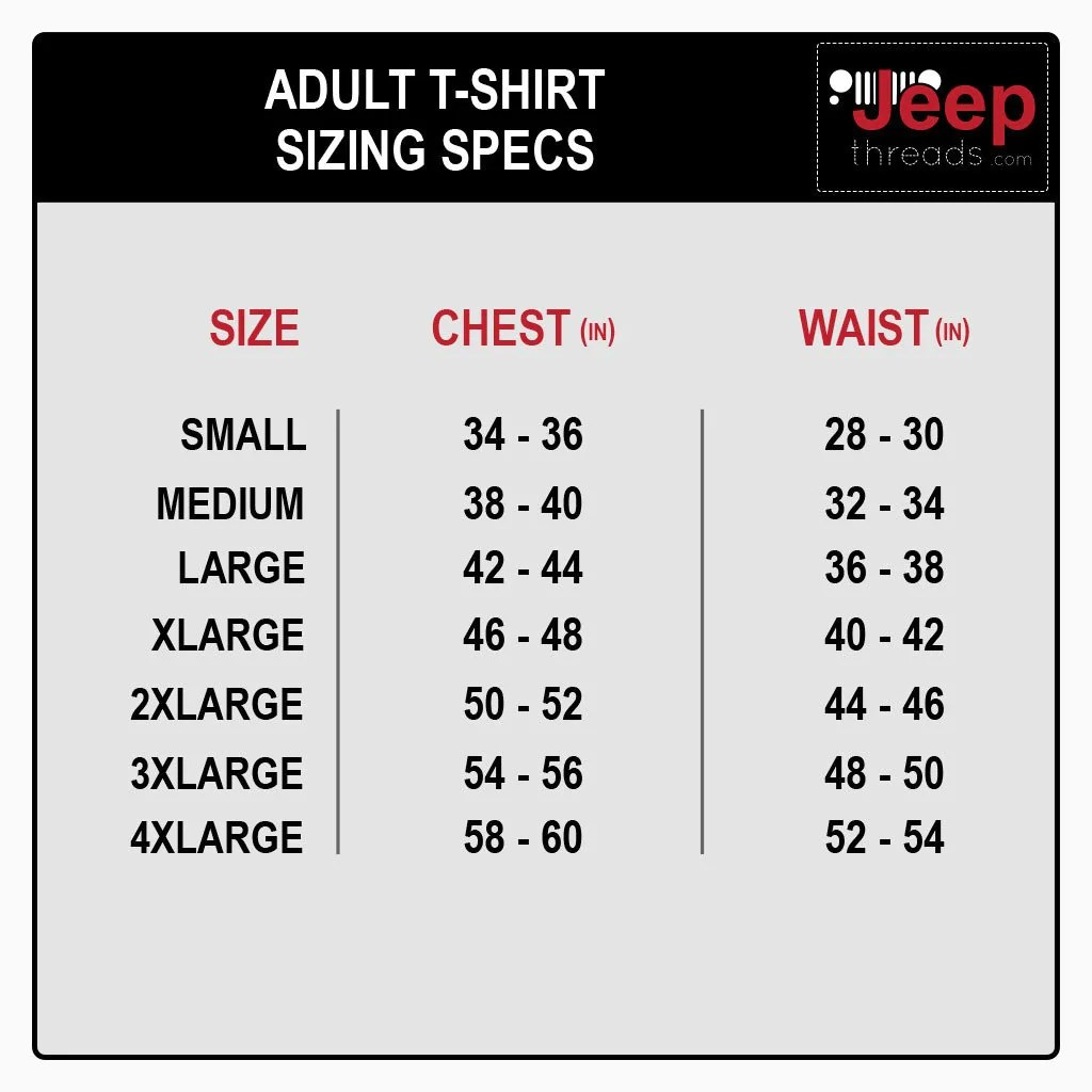 Jeep threads sizing chart also royal blue wrangler unlimited  shirt rh jeepthreads