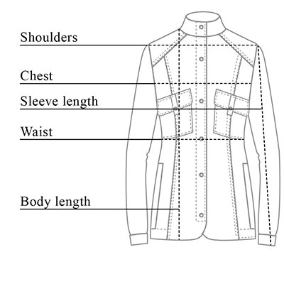 also alexis shirt jacket size chart rh anatomie