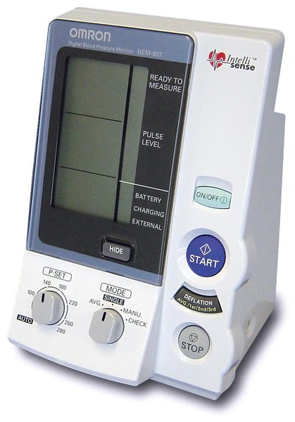 Omron HEM907 Blood Pressure Automatic Monitor