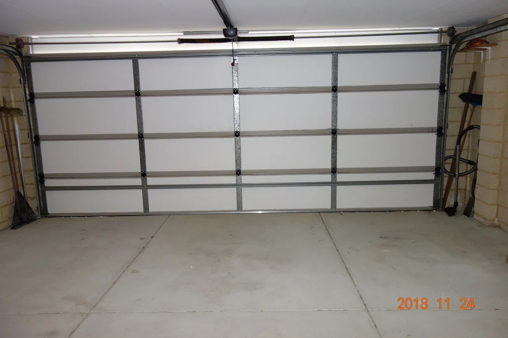 Garage Door Insulation Kit M Grade Polystyrene Cut To Size Foam Sales