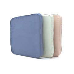 Chair Cushion Foam Patio Bar Plans Seat Covered With Ties Sales