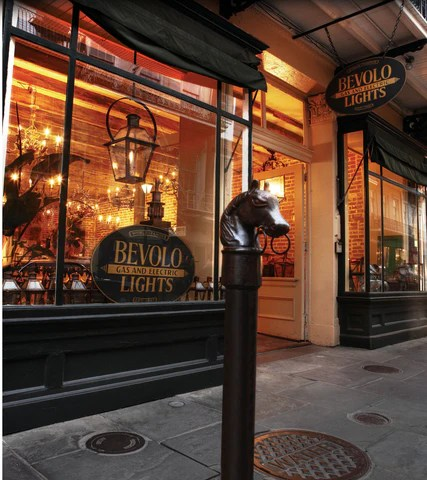 bevolo gas electric lights