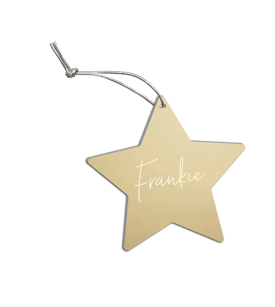 Custom Name Christmas Decoration Hexi Products