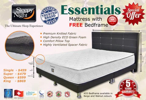 Bed Frame And Mattress Promotion | Frameviewjdi.org