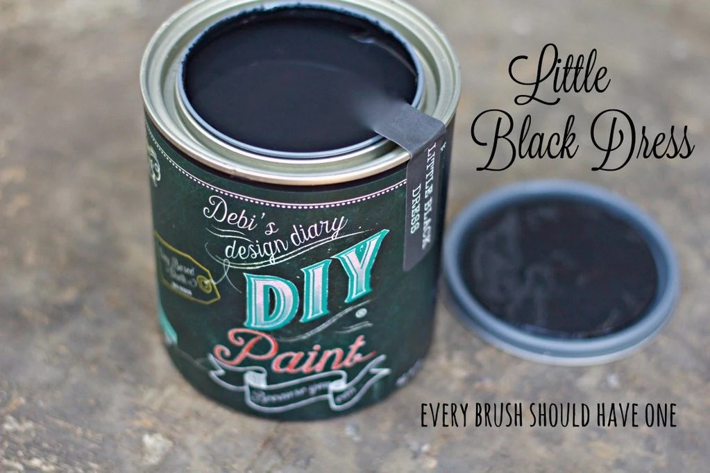 Little Black Dress  DIY Paint  Jami Ray Vintage