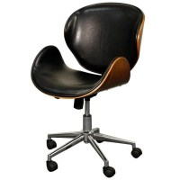 Hewitt Office Chair, Rounded Back & Seat - Apt2B.com