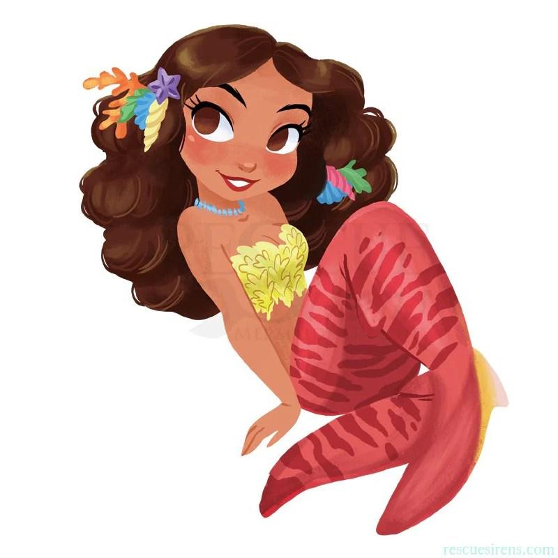 Guest Art - Rescue Sirens Mermaids Duty