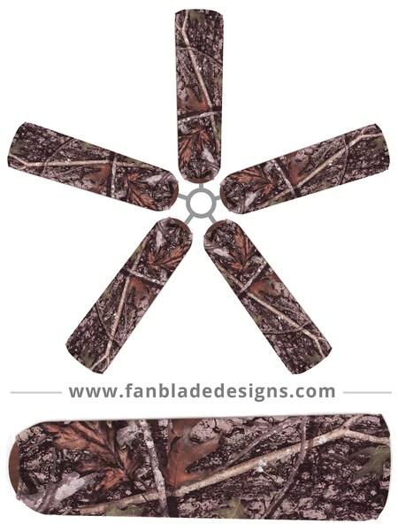 FAN BLADE DESIGNS  True Timber  Fan Blade Designs