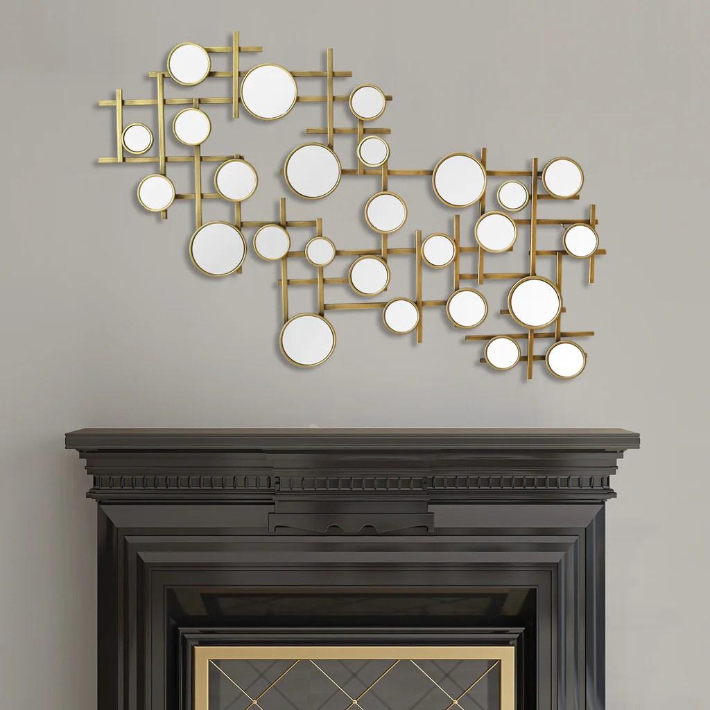 Elegant Mirror Cluster Wall Décor Stratton Home Decor