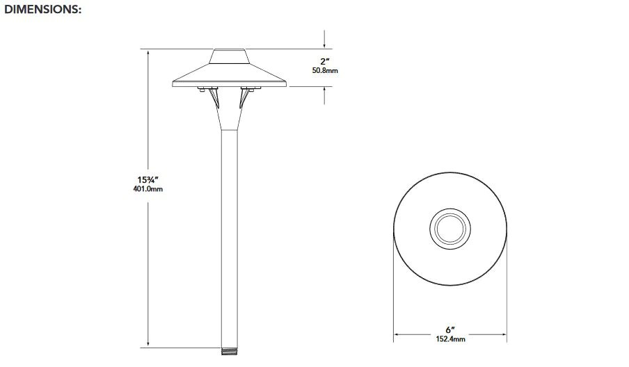 lighting architecture diagram functional microscopic anatomy of the kidney and bladder vista outdoor pr 6507 b 2 5 w t3 watt black available in a high strength polyester powder coat architectural bronze finish is shipped with led lamp abs ground stake mounting