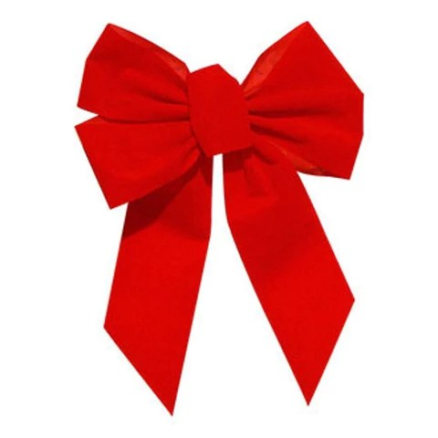 small red holiday bow