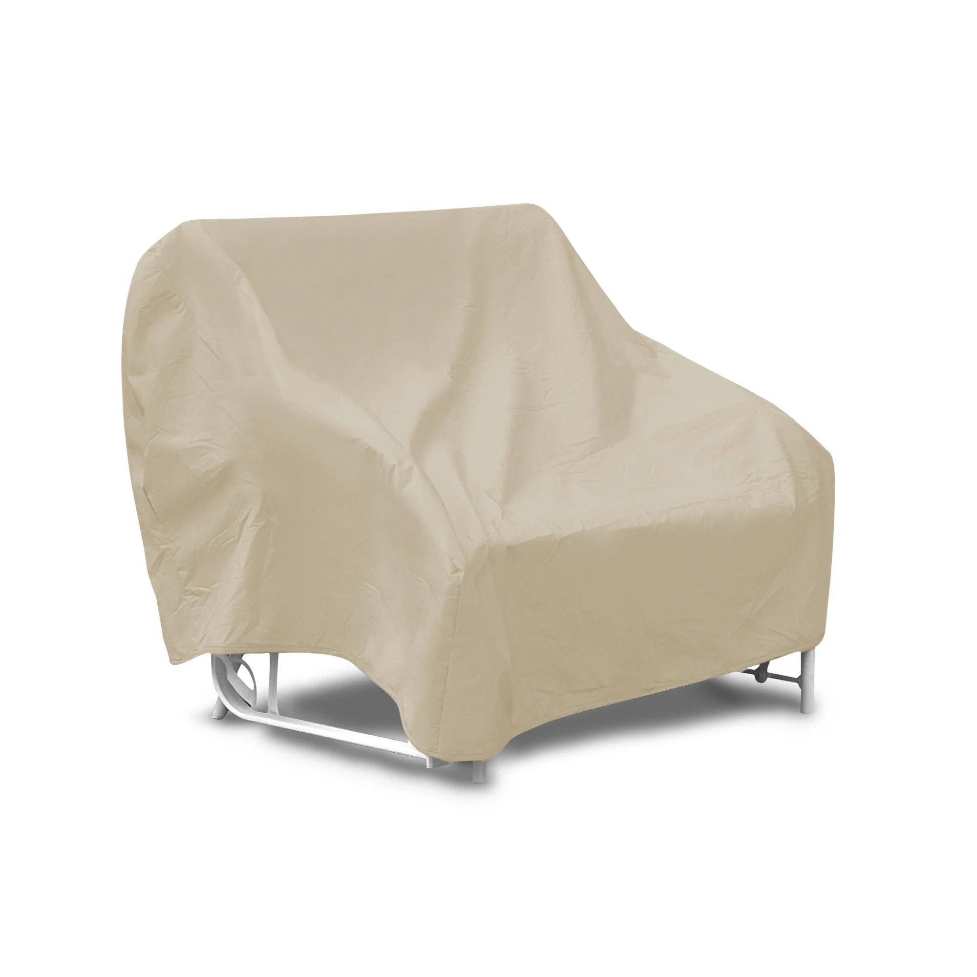 chair covers for garden furniture hanging price waterproof outdoor glider patio two seat cover