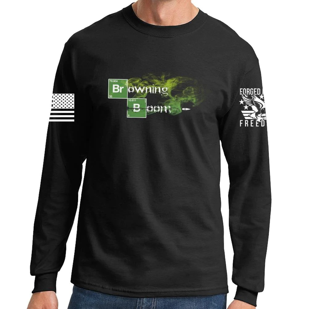 Browning Boom Long Sleeve T-shirt Forged Freedom