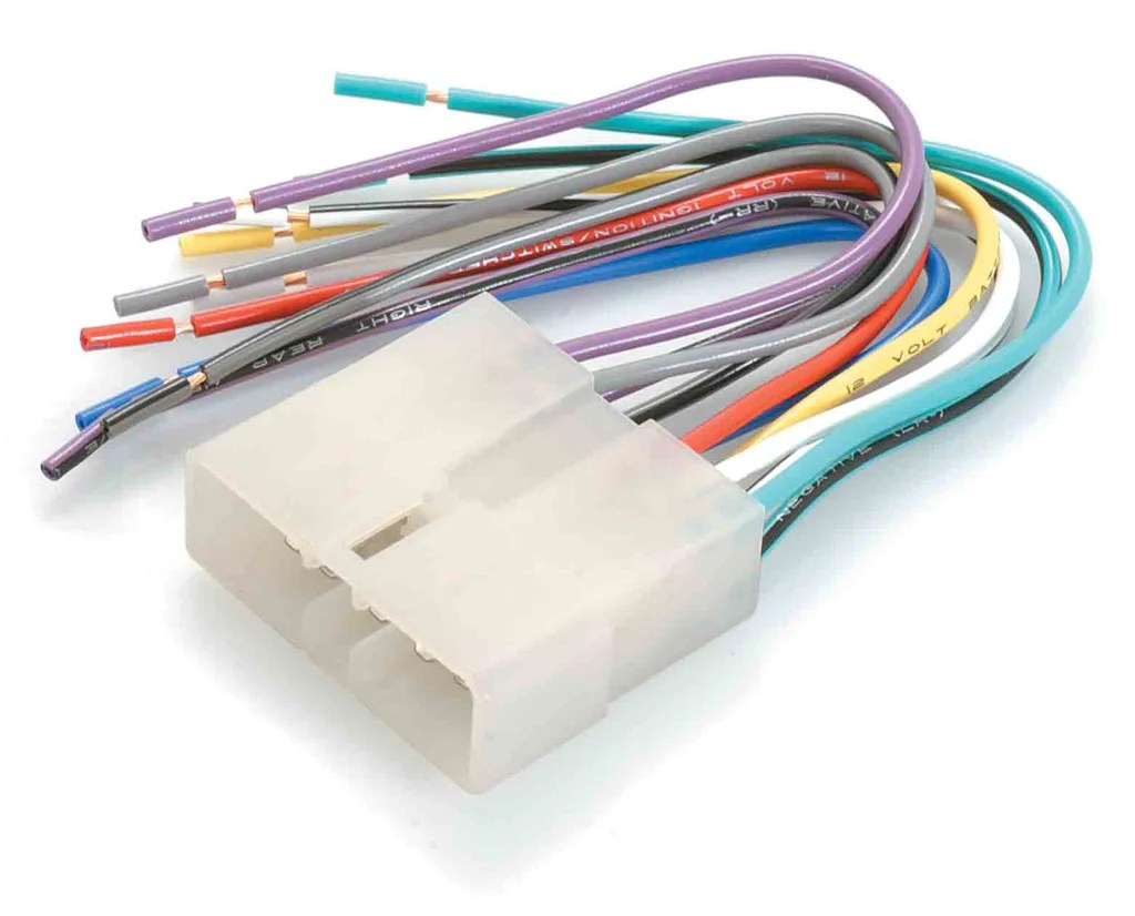 medium resolution of wiring harness adapter for excel sonata to bare wire ap1736 south east car audio